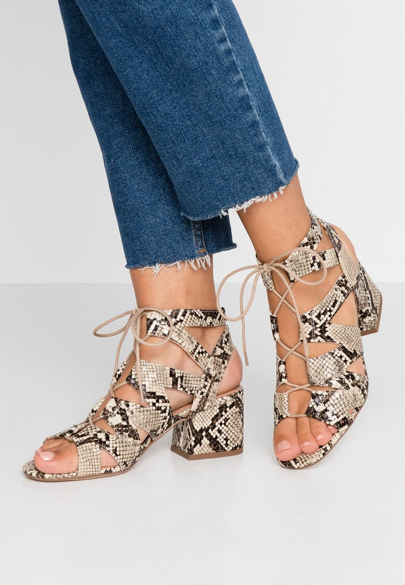 New Look - SPILLY - Sandals - stone