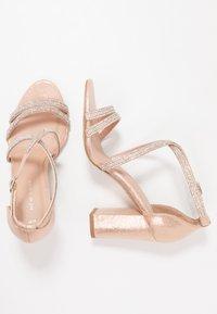 New Look - START - Sandály na vysokém podpatku - rose gold - 3