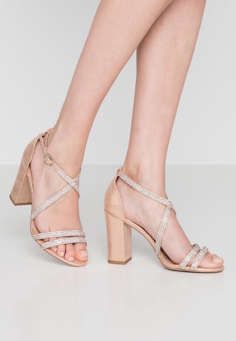 New Look - START - Sandales à talons hauts - rose gold
