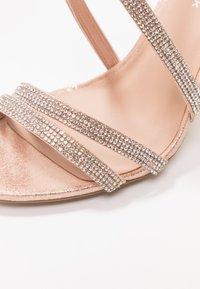 New Look - START - Sandály na vysokém podpatku - rose gold - 2