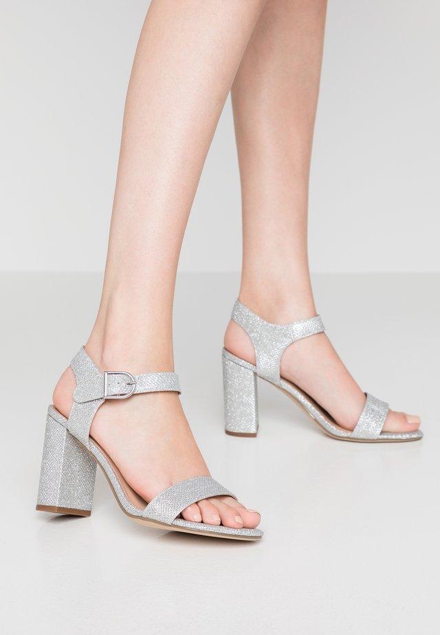 VIMS - Sandály na vysokém podpatku - silver