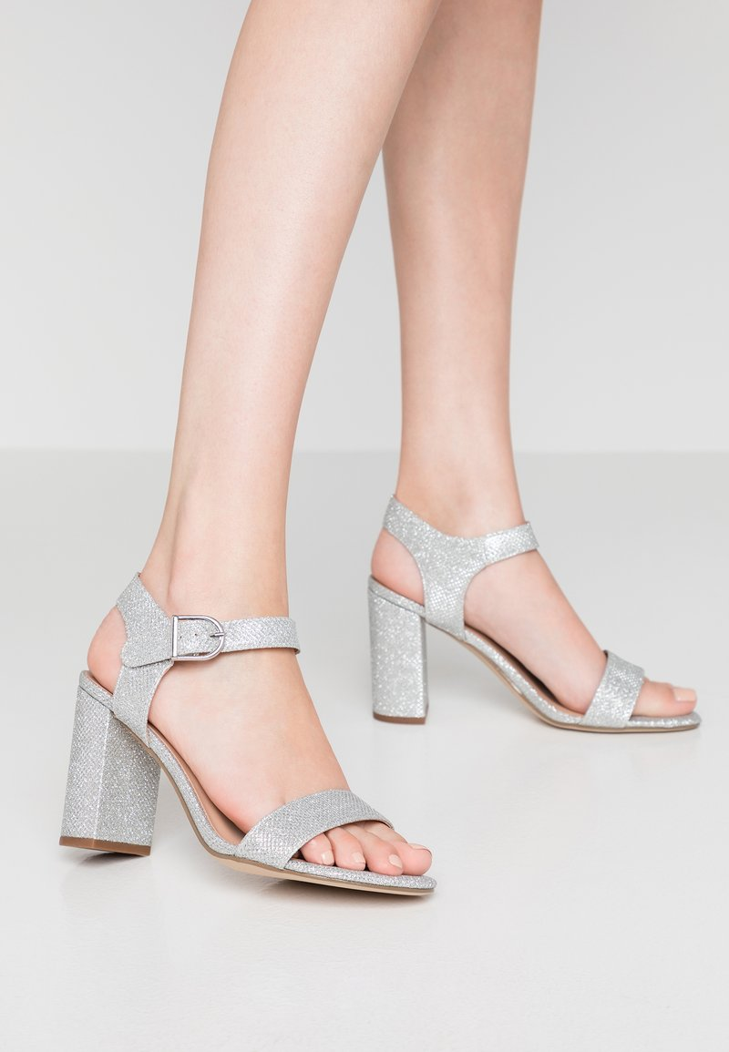 New Look - VIMS - Højhælede sandaletter / Højhælede sandaler - silver