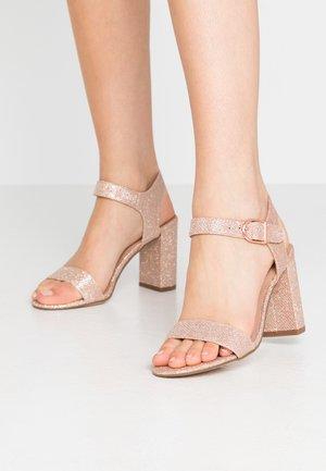 VIMS - High Heel Sandalette - rose gold