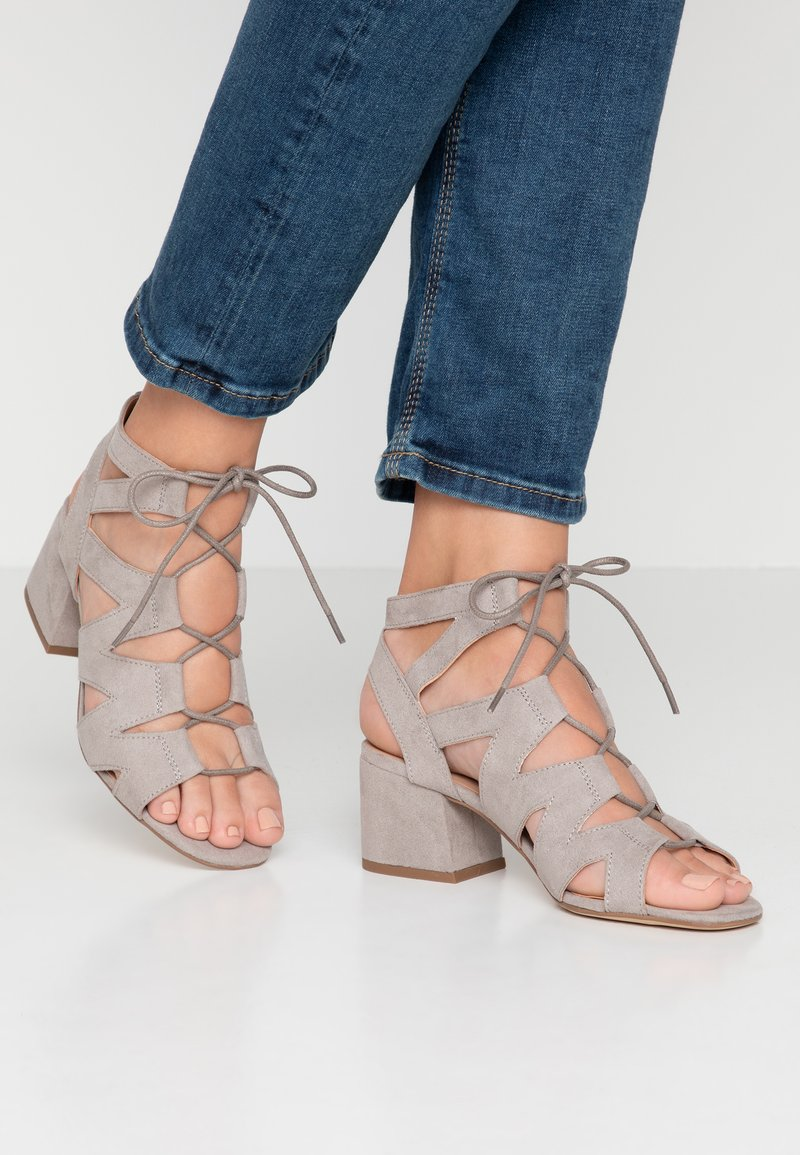 New Look - SPILLY - Sandals - mid grey
