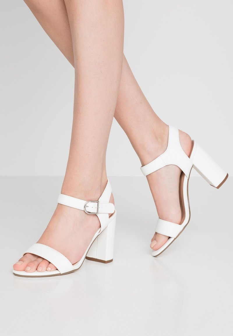 New Look - VIMS - High heeled sandals - white