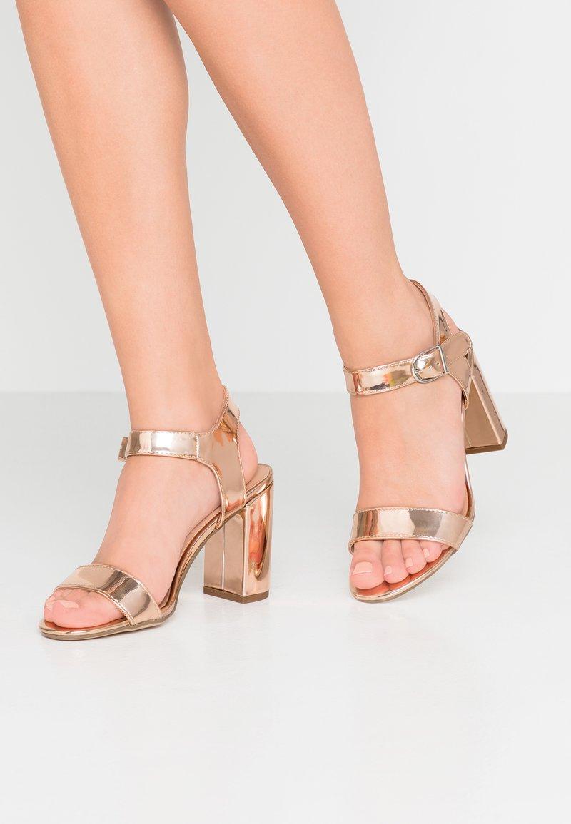 New Look - VIMS - Højhælede sandaletter / Højhælede sandaler - rose gold