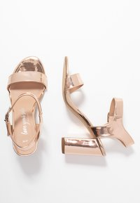 New Look - VIMS - High heeled sandals - rose gold - 3
