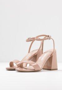 New Look - SPOINT - Sandály na vysokém podpatku - oatmeal - 4