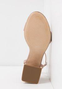 New Look - SPOINT - Sandály na vysokém podpatku - oatmeal - 6