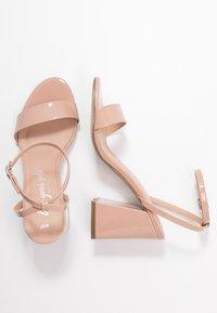 New Look - SPOINT - Sandály na vysokém podpatku - oatmeal - 3