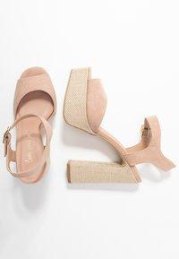 New Look - PANTHA - Sandaler med høye hæler - oatmeal - 3