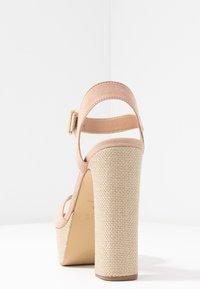 New Look - PANTHA - Sandaler med høye hæler - oatmeal - 5