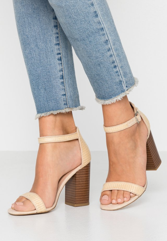 PICHES - High heeled sandals - offwhite