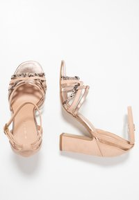 New Look - TWEEST - Korolliset sandaalit - oatmeal - 3