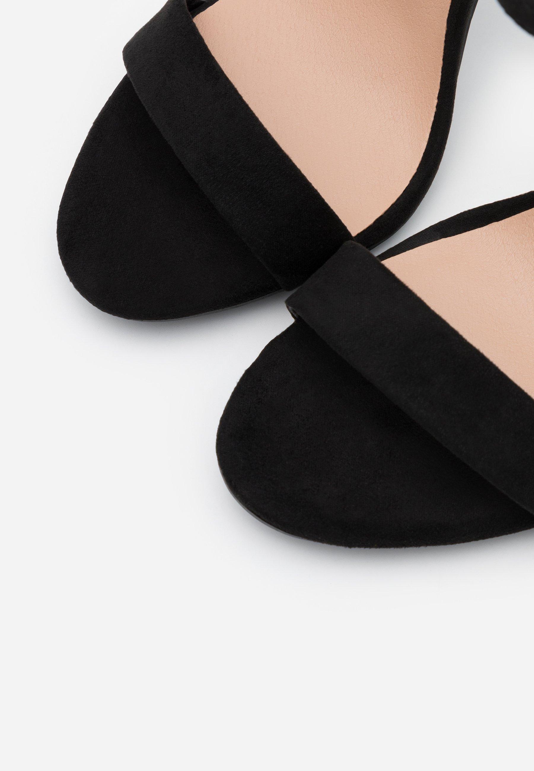 New Look URBAN - Sandali con tacco - black naWB0zwZ