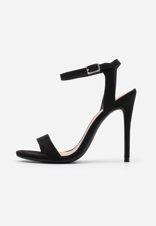 URBAN - Sandaler med høye hæler - black