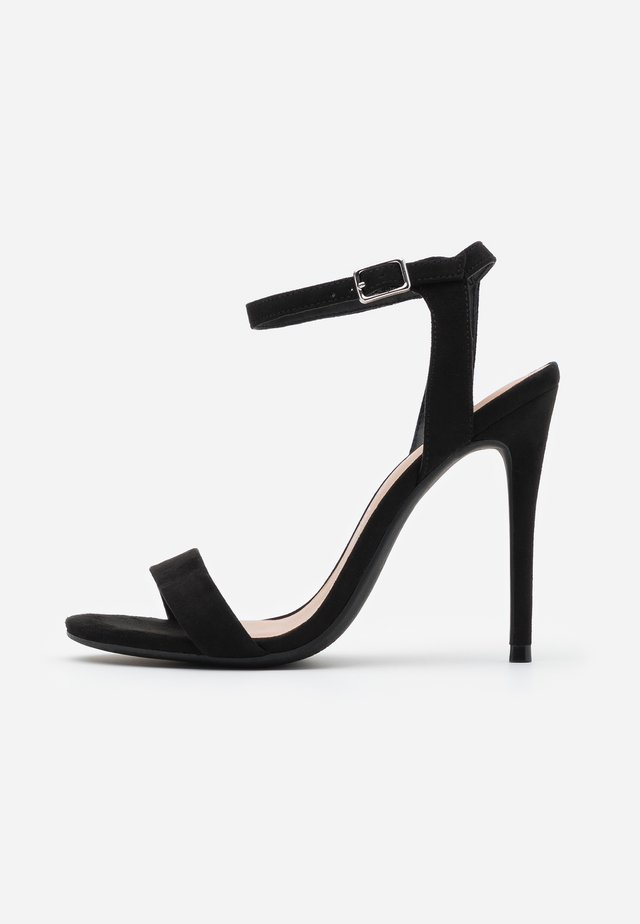 URBAN - High Heel Sandalette - black