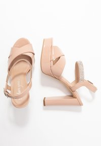 New Look - SWEET - High heeled sandals - oatmeal - 3