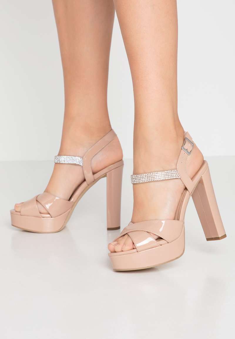 New Look - SWEET - High heeled sandals - oatmeal