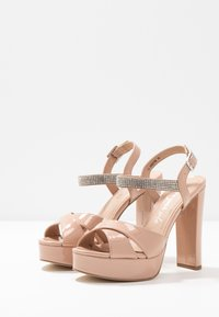New Look - SWEET - High heeled sandals - oatmeal - 4