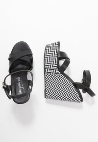 New Look - PAVE - Sandalen met hoge hak - black