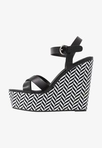 New Look - PAVE - Sandalen met hoge hak - black - 1