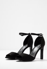 New Look - SPLUR - Sandály na vysokém podpatku - black - 4