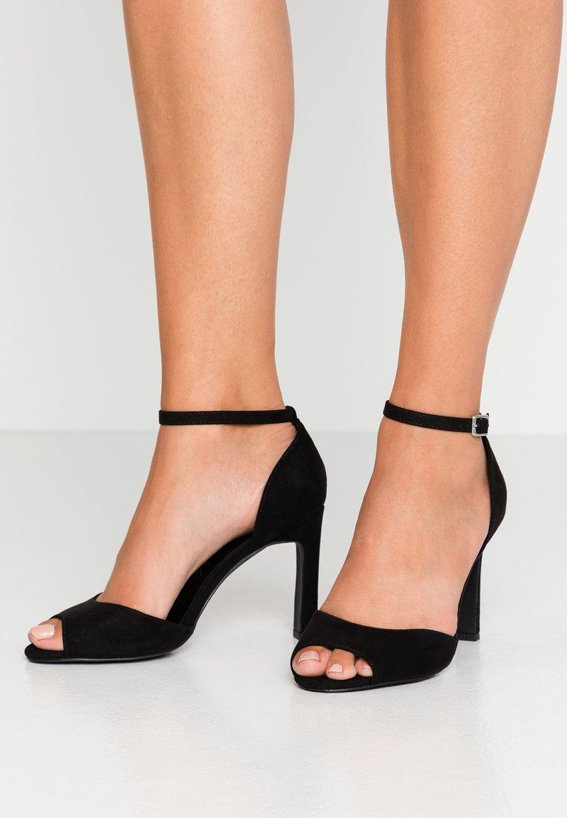 New Look - SPLUR - Sandály na vysokém podpatku - black