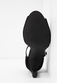 New Look - SPLUR - Sandály na vysokém podpatku - black - 6