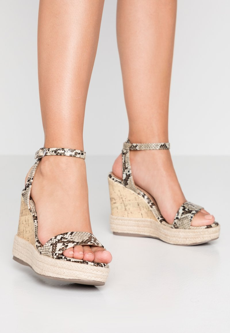 New Look - OTTER  - High heeled sandals - stone