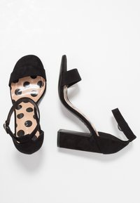 New Look - SWAGGLE  - High heeled sandals - black - 3