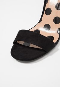 New Look - SWAGGLE  - High heeled sandals - black - 2