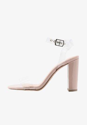 SHIKA  - High heeled sandals - oatmeal
