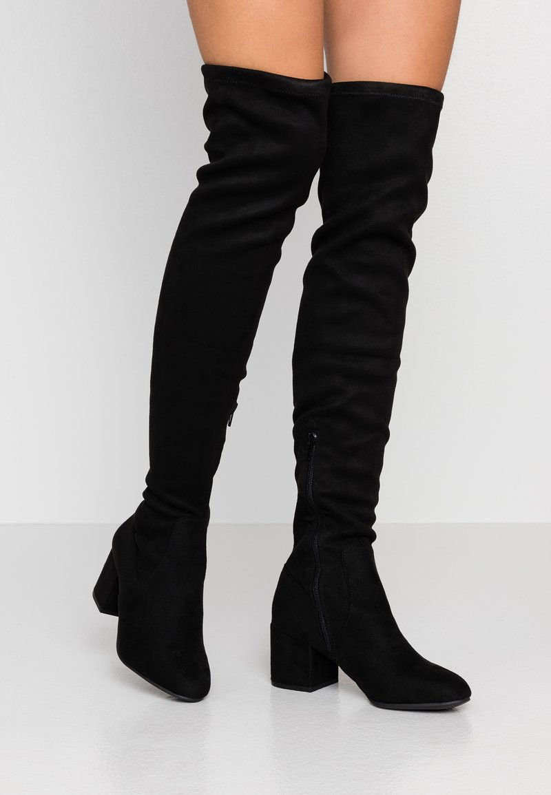 New Look - ADELAIDE - Over-the-knee boots - black