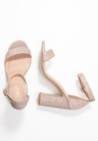 New Look - SWAGGLE - Sandali con tacco - rose gold - 3
