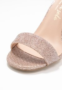 New Look - SWAGGLE - Sandali con tacco - rose gold - 2