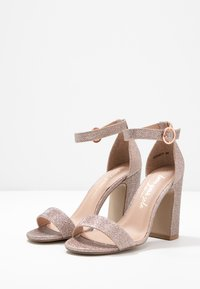 New Look - SWAGGLE - Sandali con tacco - rose gold - 4