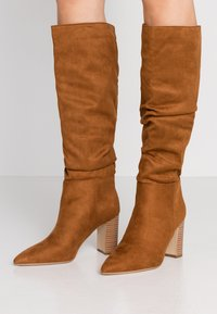 New Look - DEXTER - High heeled boots - tan - 0