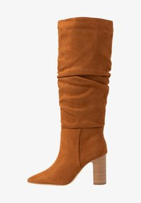 New Look - DEXTER - High heeled boots - tan - 1