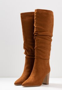 New Look - DEXTER - High heeled boots - tan - 4