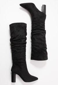 New Look - DEXTER - High heeled boots - black - 3