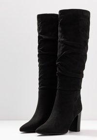 New Look - DEXTER - High heeled boots - black - 4