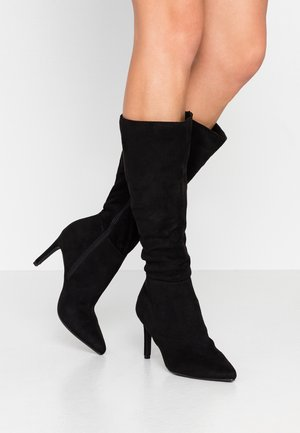 ANCIENT - High heeled boots - black
