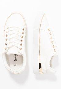 New Look - MAJESTIC - Sneakersy niskie - white - 3