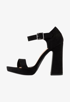 SNOWZ - High heeled sandals - black