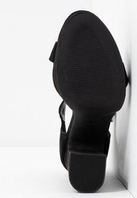 New Look - SNOWZ - Sandalias de tacón - black - 6