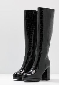 New Look - CROWN - High Heel Stiefel - black - 4