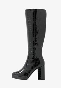 New Look - CROWN - High Heel Stiefel - black - 1