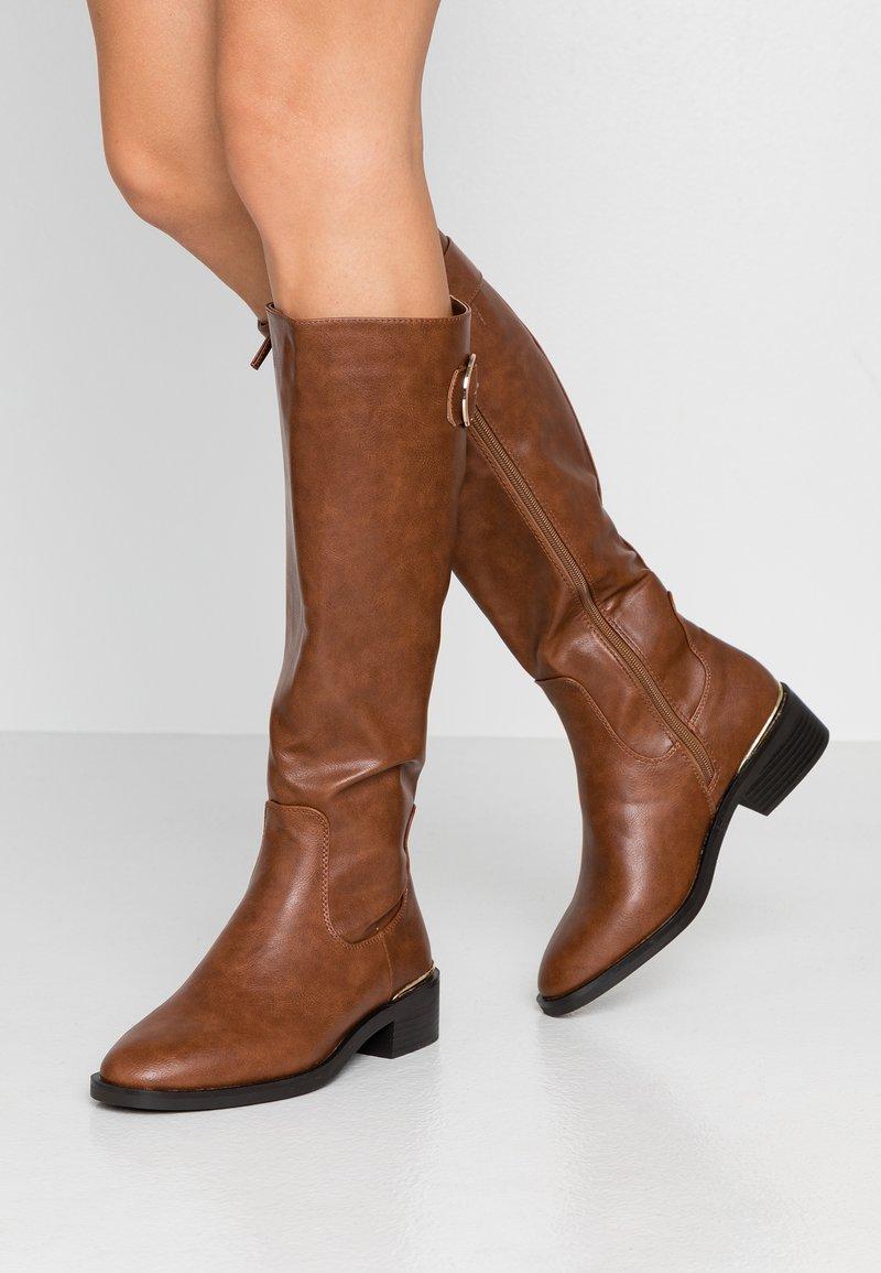 New Look - BANDY - Boots - tan