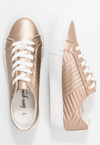 New Look - MAIDEN - Trainers - rose gold - 3